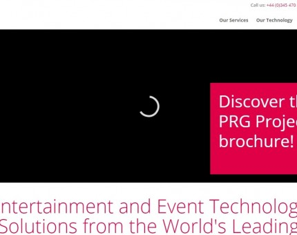 PRG - Production Resource Group UK