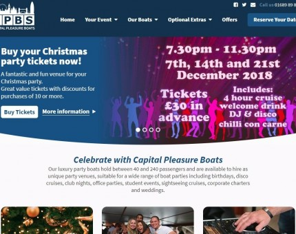 Capital Pleasure Boats