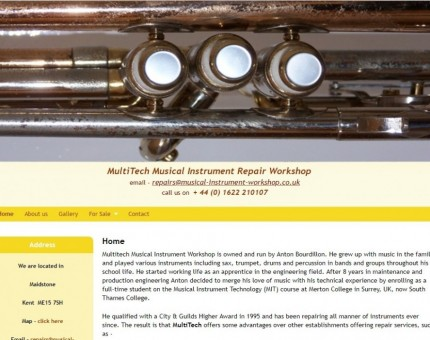 MultiTech - Musical Instrument Repair Workshop