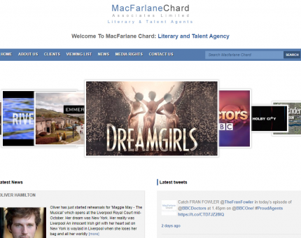 MacFarlane Chard, Literary And Talent Agents