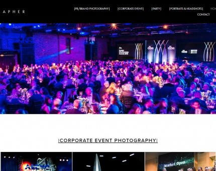 Freelance Events Photographer - London