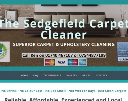 CarpetClean (North East) - Sedgefield Carpet and Upholstery Cleaning Specialists