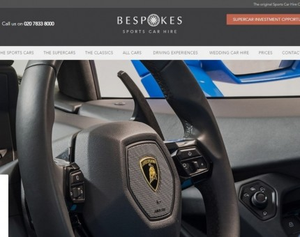 Bespokes Sports Car Hire