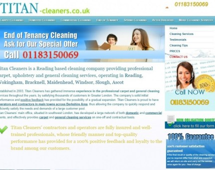 Titan Cleaners
