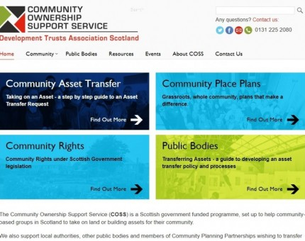 DTAS Community Ownership Support Service