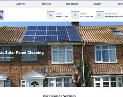 Solar Panel Cleaning Servicess