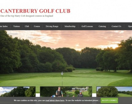 Canterbury Golf Club and Driving Range