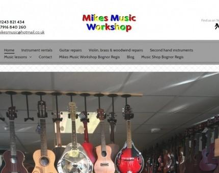 Mikes Music Workshop (Mike Bosley Instrument Repairs)