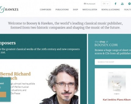 Boosey & Hawkes Music Publishers Limited