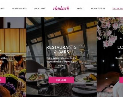 Rhubarb Food Design
