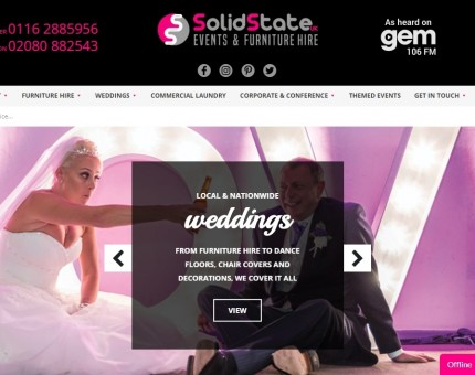 Solid State UK Events & Furniture Hire