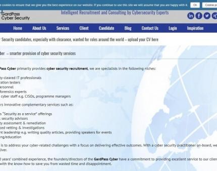 GardPass Cyber Recruitment
