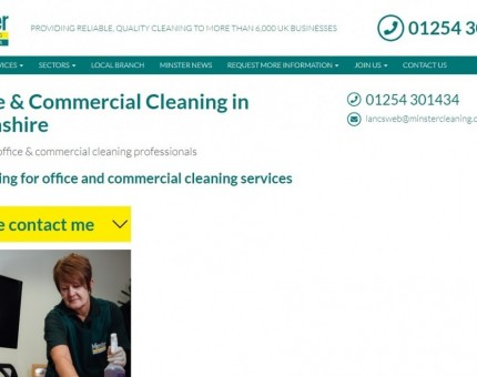 Minster Cleaning Services Lancashire