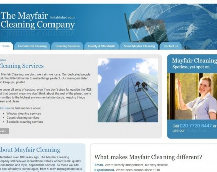 The Mayfair Cleaning Co Ltd