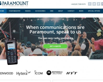 Paramount Radio Communications