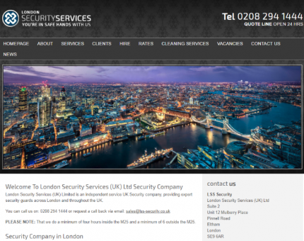 London Security Services (UK) Ltd