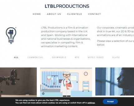 LTBL Productions - Video Production and Animation Studio, Sheffield, UK