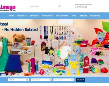 Almega Promotional Gifts Ltd