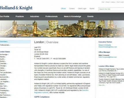 Holland & Knight (UK) LLP
