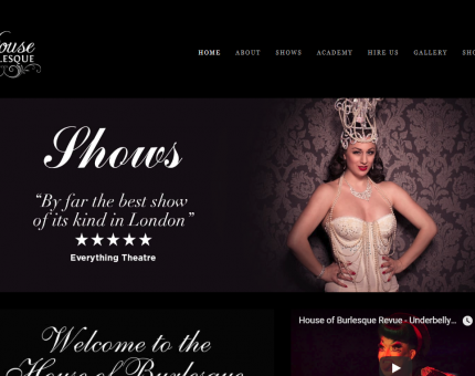 House of Burlesque ltd