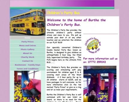 Children's Party Bus