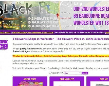 The Firework Place New