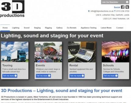 3D Productions Ltd