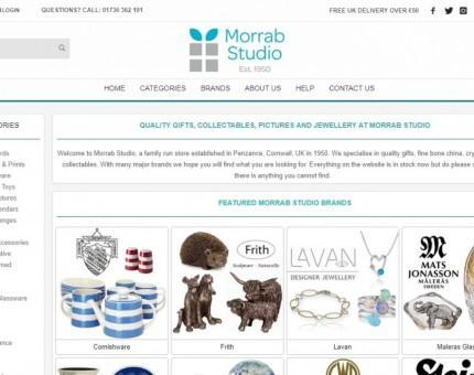 Morrab Studio, Penzance Gift Shop