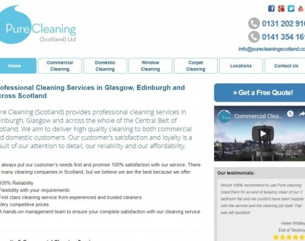 Pure Cleaning (Scotland) Ltd