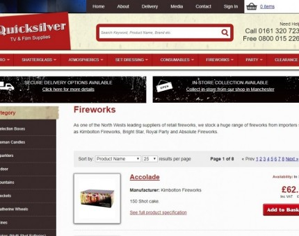 Quicksilver SFX & Fireworks Shop