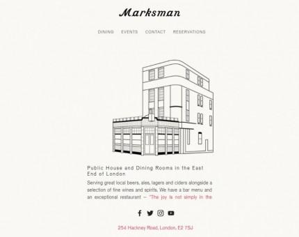 Marksman Public House