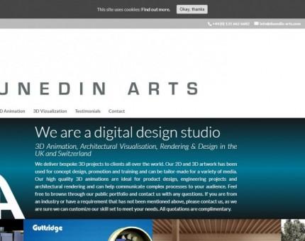 Dunedin Arts 3D Animation Studio