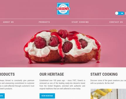Greens Desserts UK Ltd.
