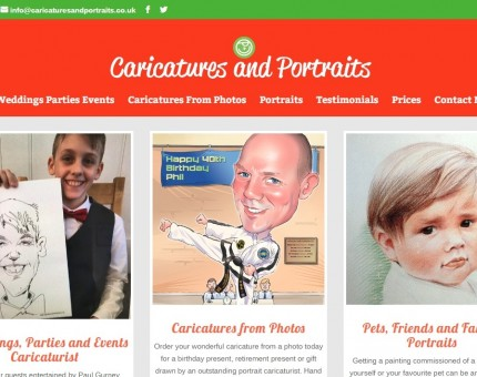 Caricaturist Cartoons & Portraits