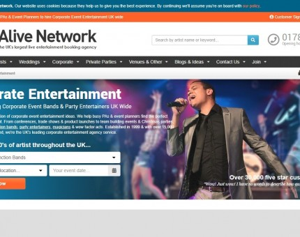 Alive Network Entertainment Agency