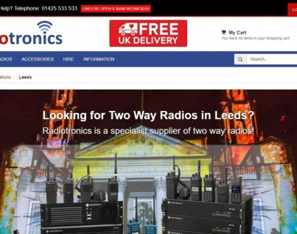 Radiotronics Two Way Radios & Walkie Talkies