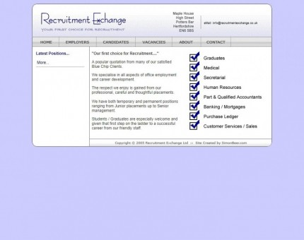 Recruitment Exchange (UK) Ltd
