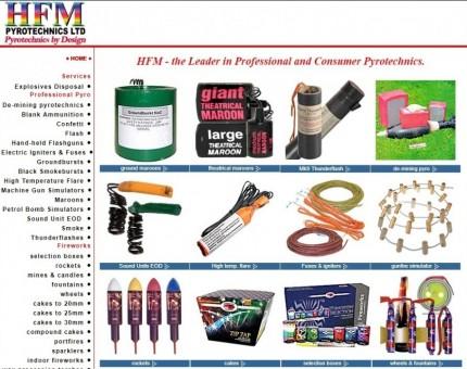 HFM Pyrotechnics Ltd