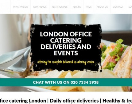 Kudos Delivered - Office Catering & Deliveries