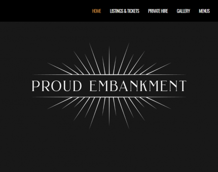 Proud Embankment