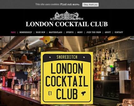 London Cocktail Club - Shoreditch