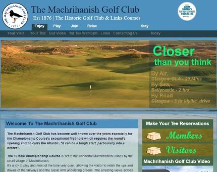 The Machrihanish Golf Club