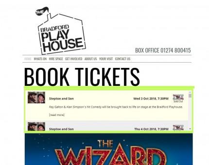 Bradford Playhouse