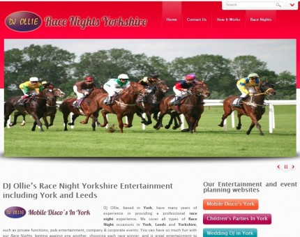 Race Nights Yorkshire