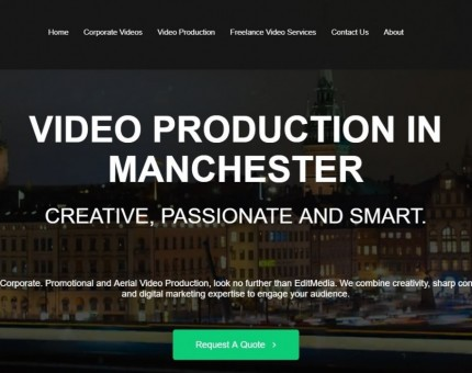 Edit Media Video Production Manchester