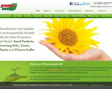 Horti Gifts Ltd T As Promo Seeds UK