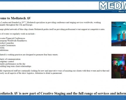 Mediatech AV Ltd
