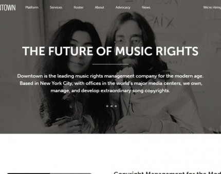 Downtown Music UK Ltd