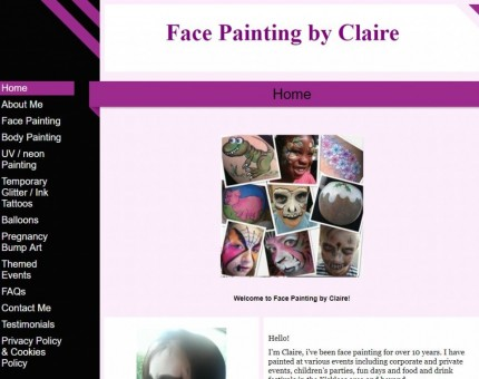Face Painting by Claire