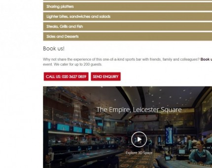 The Carlsberg Sports Bar at The Empire Casino